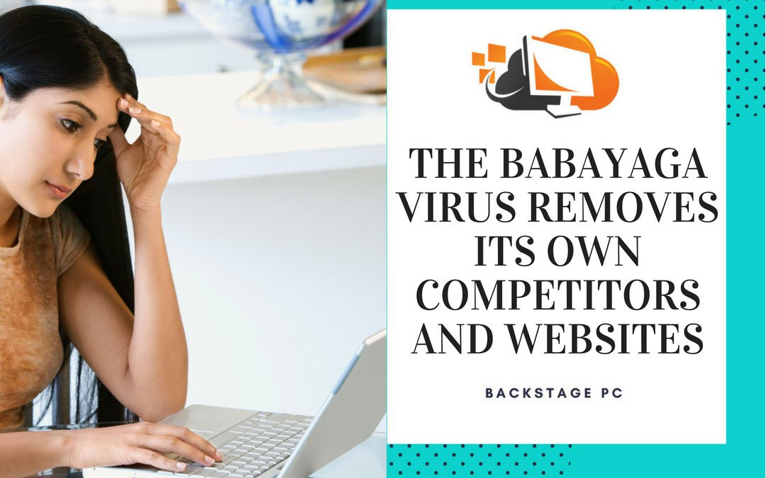 The BabaYaga virus removes its own competitors and websites
