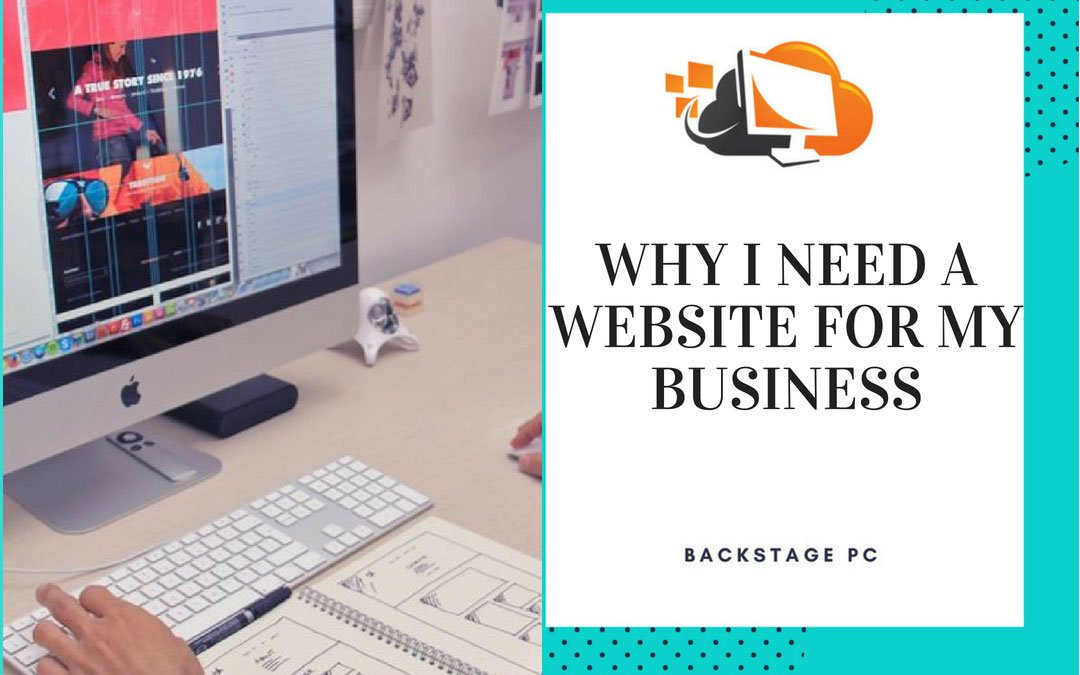 Why I need a website for my business