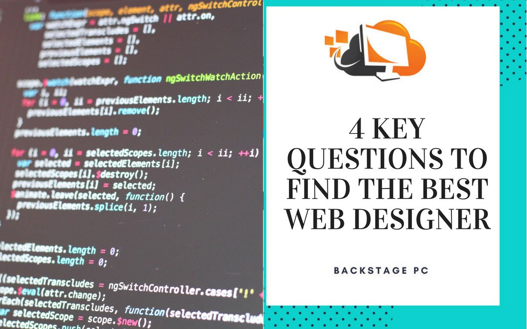 4 key questions to find the best web designer